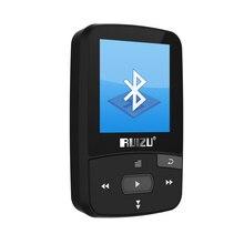 New Mini Clip Sport MP3 Player RUIZU-X50 Portable 8GB FM Radio Pedometer Multi-funcation Bluetooh HiFi MP3 Music Player Black