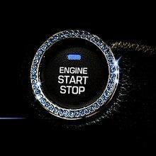 Alijunda Car Ignition switch ring for Kia Rio K2 K3 K5 K4 Cerato,Soul,Forte,Sportage R,SORENTO,Mohave,OPTIMA