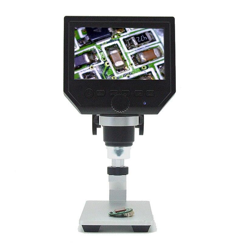 Microscope G600A4.3 pouces écran microscope électronique numérique HD réparation de téléphone Portable microscope métal stent