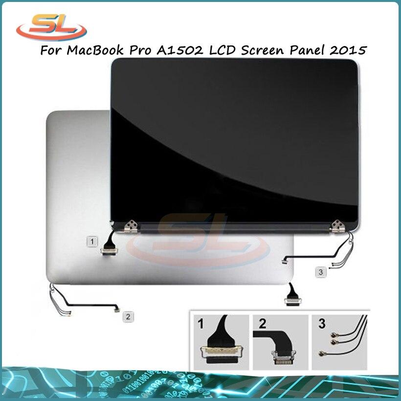 Véritable 98% nouveau A1502 LCD assemblée 2015 an écran assemblage pour MacBook Pro Retina A1502 travail testé avec la peau du Film