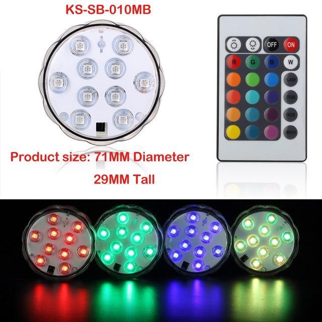 3AAA Batterij aangedreven Veelkleurige RGB LED Verlichting met ...