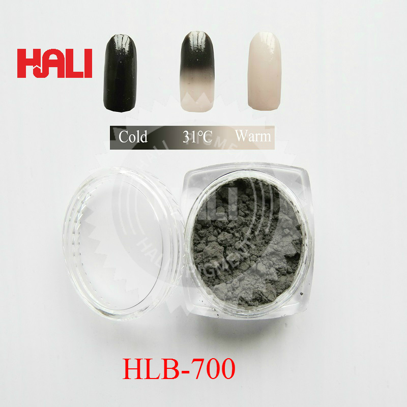 sell 31C black heat sensitive pigment temperature sensitive pigment thermochromic powder item HLB 700