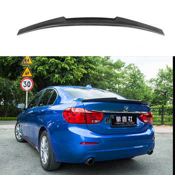 M4 Style Carbon Fiber Rear Trunk Spoiler For BMW 1 Series 118i 120i 2017 2018 Car Accessories