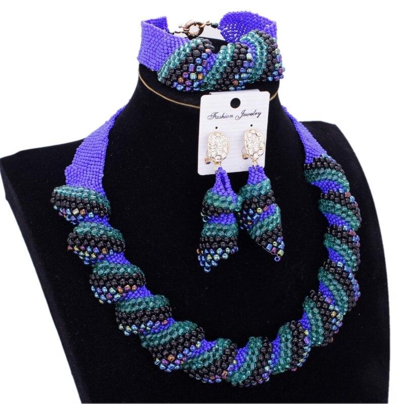 Dudo bijoux américain Bracelet boucles d'oreilles collier bijoux ensembles africain Godki luxe femmes bijoux ensemble à la main livraison gratuite 2019