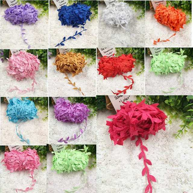 5 meters/mini artificial silk leaves form of a wedding Home decoration DIY wreath wreath collage decorative arts and crafts