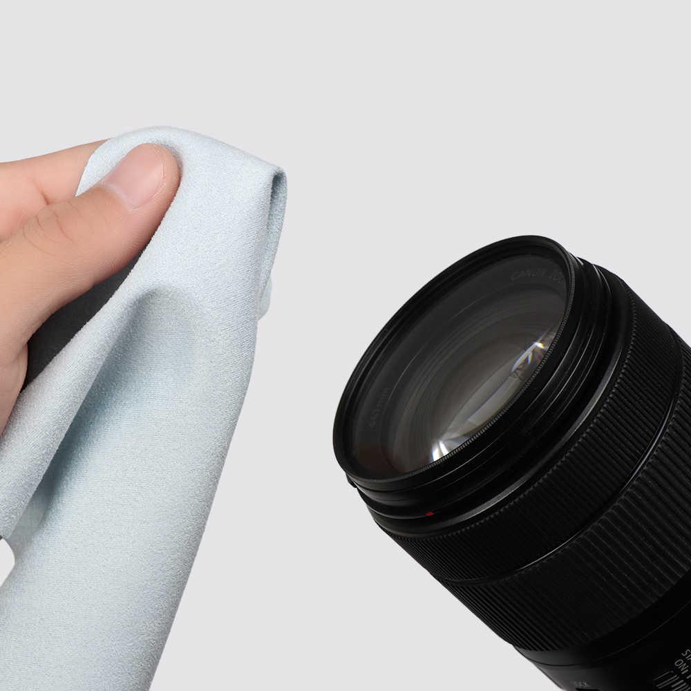 عدسة الملابس النظارات تنظيف الملابس ستوكات الهاتف منظف الشاشة النظارات الشمسية كاميرا خرقة مناديل نظارات اكسسوارات