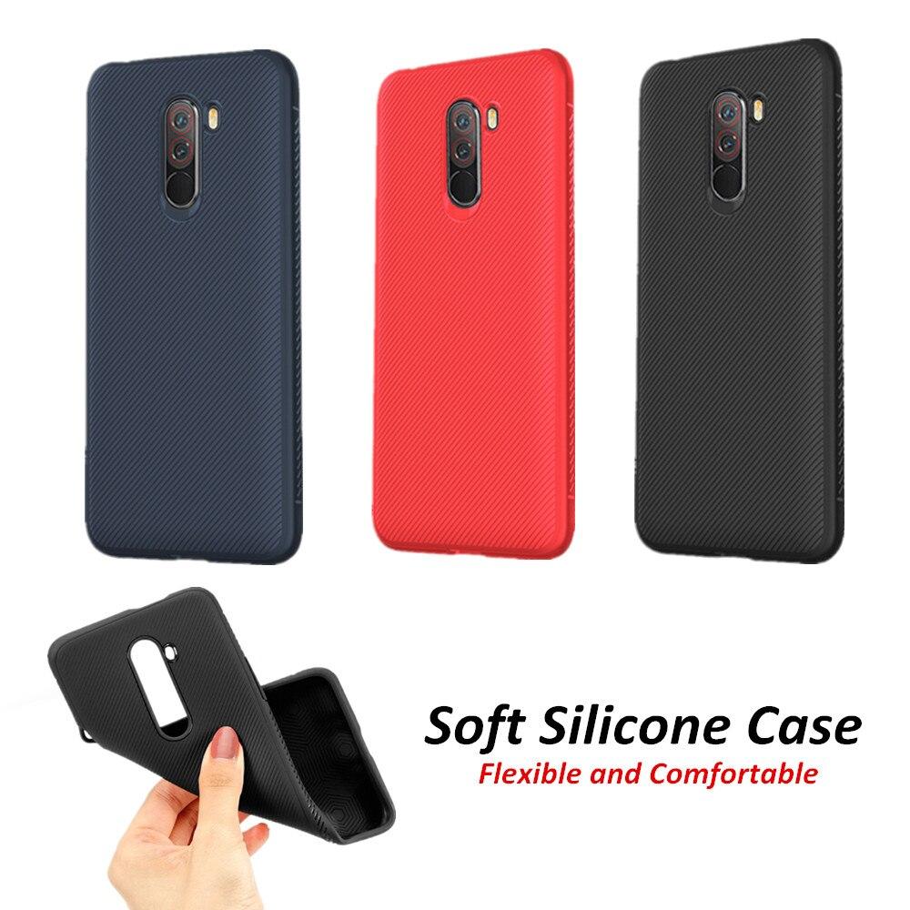 Чехол для Xiao mi Pocophone F1 силиконовый матовый мягкий термополиуретан текстурированный противоударный чехол для Xiaomi mi A3 Red mi Note 7 Red mi 7A