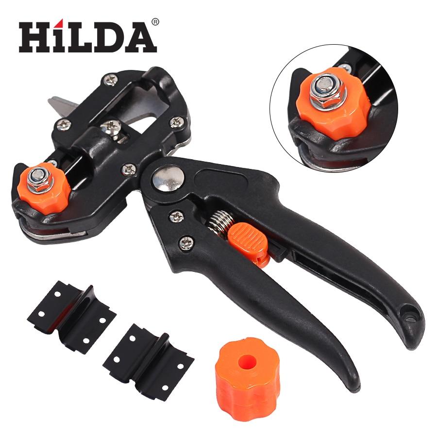 HILDA Pruner Tree Cutting Tool Garden Pruning Scissor Grafting Cutting Tool 2 Blade Garden Tools Set цена