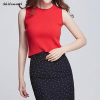 Skinny Crop Top Women Sweater 2018 Summer New Tight Bustier Crop Top Slim Shirt Belly Casual