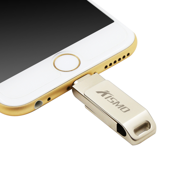 Kismo Высокоскоростной IOS OTG USB Flash Drive Pen Drive USB 2.0 U Диск Memory Stick Для Iphone Ipad Ipod 16 ГБ 32 ГБ 64 ГБ 128 ГБ