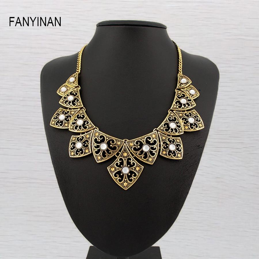 df6dd210e500f Jianxi العتيقة الفضة مصنع المجوهرات قلادة قلادة مربع سبيكة سحر سلسلة القلائد  القصيرة و المعلقات أفضل أصدقاء تسليم
