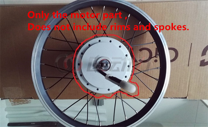 Xiaomi qicycle ef1 electric folding car lithium original front wheel motor