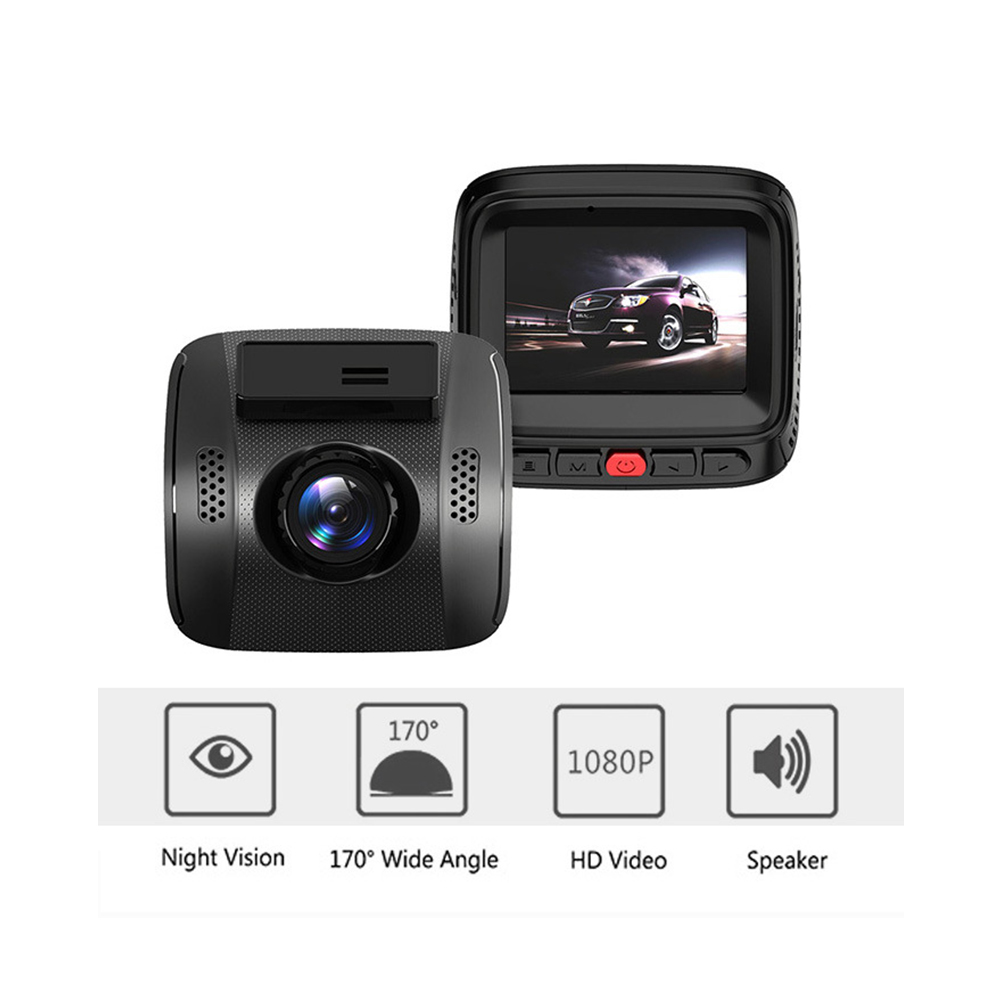 2.0 Mini Hidden Type HD Driving Recorder Novatek 96658 2.7 Inches Car DVR With G-Sensor Records 140 Degree Wide Angle Lens цены