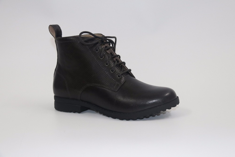 ФОТО Leather shoes Waterproof leather boots US7