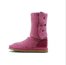 Free Shipping Classic Cardy Boots 5819 Women's Australia Sheepskin Snow Boots, Winter Boots Size US5-10