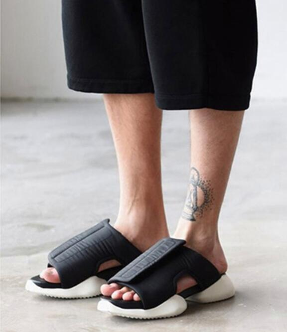Summer Fashion 2018 Mens Black Beach Big Platform Casual Size44 Sandals Gladiator Mujers Runway Cutout Cool nPk0wO