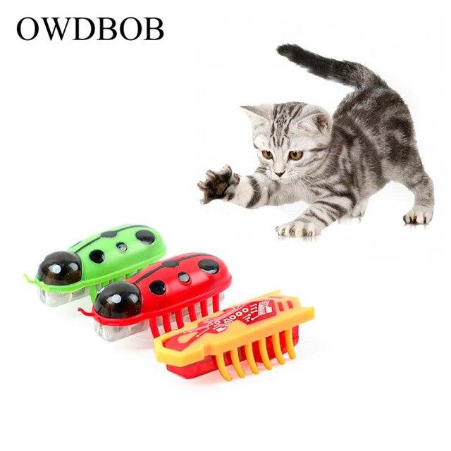 Owdbob Baru Hewan Peliharaan Elektronik Hexbug Mainan Bertenaga Baterai Cepat Bergerak Kucing Bermain Mainan Lucu Anjing