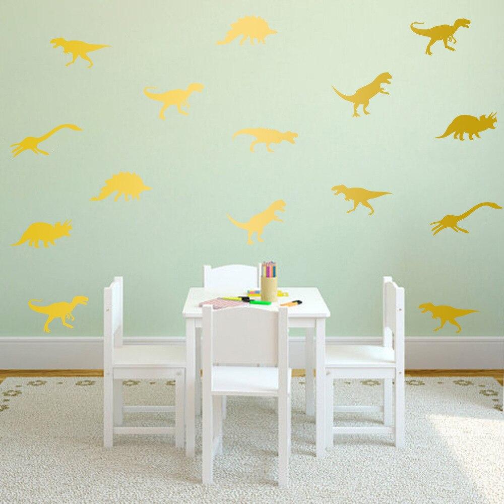 Diy Cartoon Dinosaur Wall Stickers Decals Kids Children