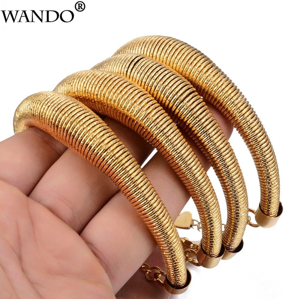 Wando 4pcs Gold Colour...