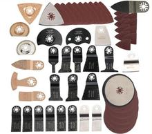 249 pcs oscillating multi tool saw blade accessories for multimaster power tool as Fein renovator tool,Dremel,TCH,metal cutting
