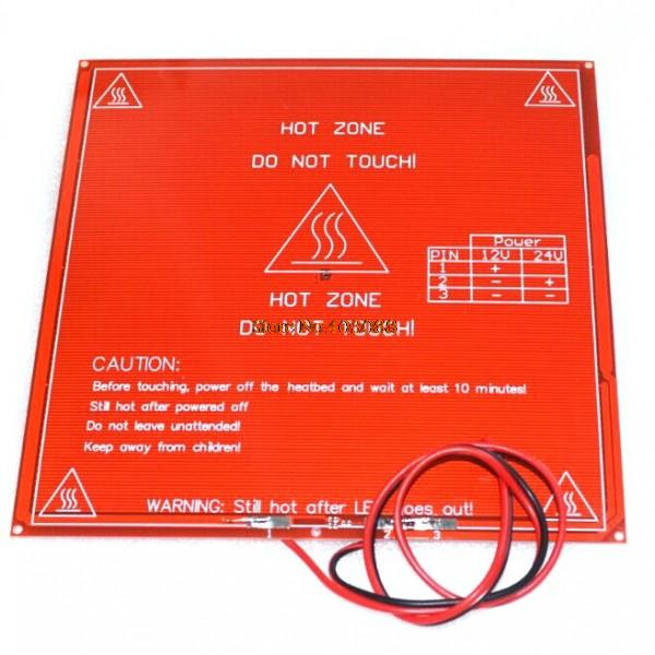 Honest Reprap Mendel Pcb Heatbed Mk2b With Cable For Mendel 3d Printer Hot Bed Big Clearance Sale Integrated Circuits Active Components