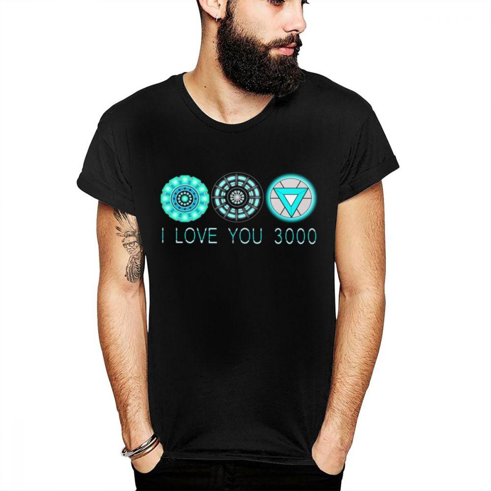 5849feba4505 Superhero Iron man t shirt Tony stark Tees I love you 3000 times T shirt  Casual New Arrival 100% Cotton Slim fit Tee SHIRT