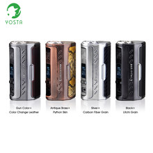 E Cigatettes Yosta Livepor 256 Box Mod 256w Electronic Mod Triple Battery Vaporizer 3 Different LED Lamps Electronic Hookah Vape(China)