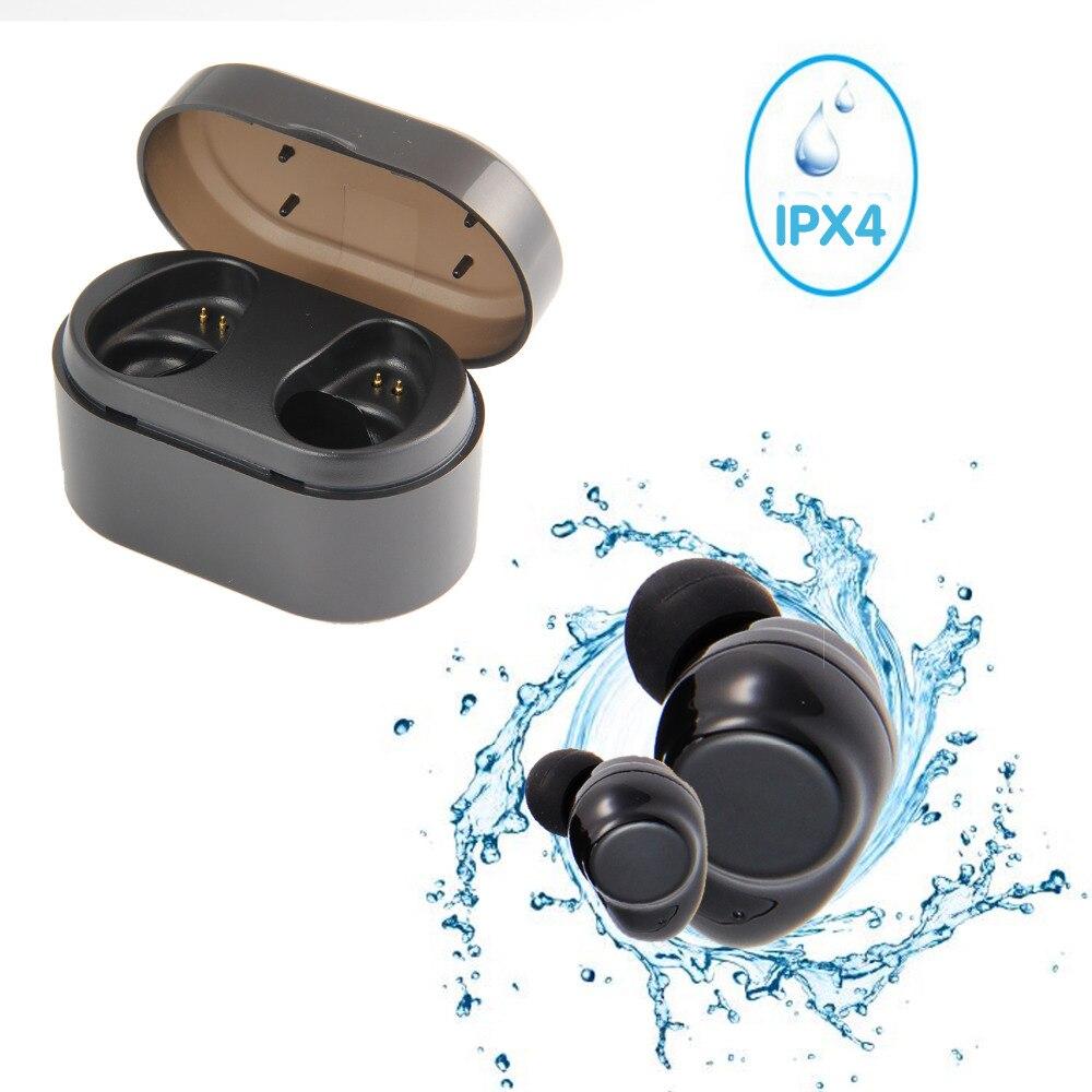 Sans fil stéréo (TWS) écouteurs Bluetooth 4.2 sans fil écouteur Sport Bluetooth écouteur avec étui de charge pour Xiaomi iphone