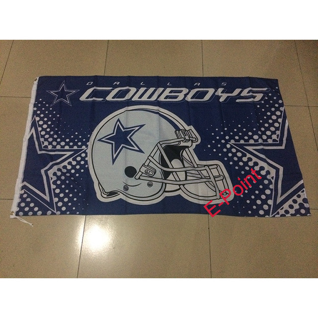 dallas cowboys 3ft5ft 90150cm size christmas decorations for home flag
