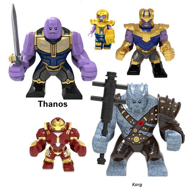 חדש מכירה אחת מארוול נוקמי סוף המשחק סרט סופר גיבורי Thor Korg תאנסו ארס איש ברזל בובת דמויות צעצוע לילדים מתנות