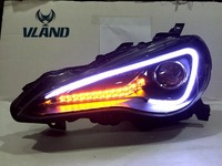 Auto Car Styling 2012 2016 GT86 Headlamp FT86 LED Headlight HID Xenon Lamp Best Quality With