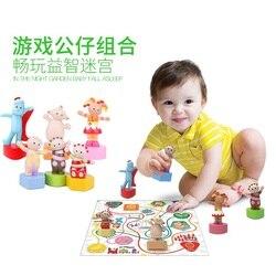 Candice guo en la noche Series de jardín de juguete de plástico Igglepiggle Upsy Daisy Tombliboos Makka Pakka laberinto juego de regalo 1 set