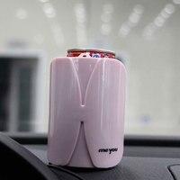 アップグレード車電気加熱牛乳瓶ウォーマーヒーターカバーポータブル食品ミルク旅行カップ12ボルト7ワット車のアクセサリーヒーターカバー