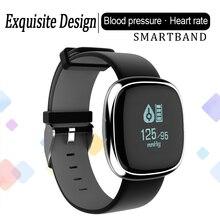 P2 Bluetooth smart Сердечного ритма Мониторы Приборы для измерения артериального давления Фитнес трекер браслет шагомер браслет часы для IOS Android