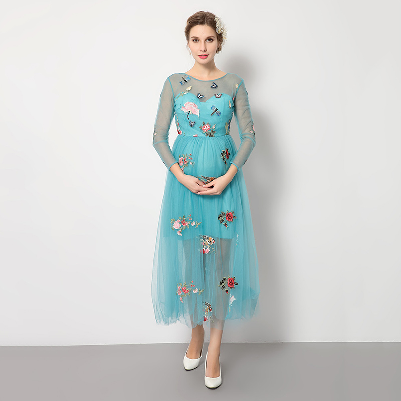 Maternity Dress 2019 New Summer Style Maternity Embroidery Photography Fancy Props Dresses Maternity Lace Party Princess DressesMaternity Dress 2019 New Summer Style Maternity Embroidery Photography Fancy Props Dresses Maternity Lace Party Princess Dresses
