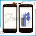 Teléfono con pantalla táctil para prestigio multiphone pap3404 duo smartphone sensor panel de pantalla táctil digitalizador lente de la pantalla táctil + herramientas