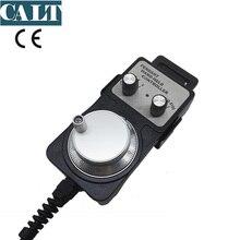 DC12V remote controller MPG hand wheel pulse encoder for Mitsubishi CNC 25pulse rotary encoder TM1469-25BST12 4 axis handle wheel cnc usb pendant manual remote controller jog encoder for mach 3 system