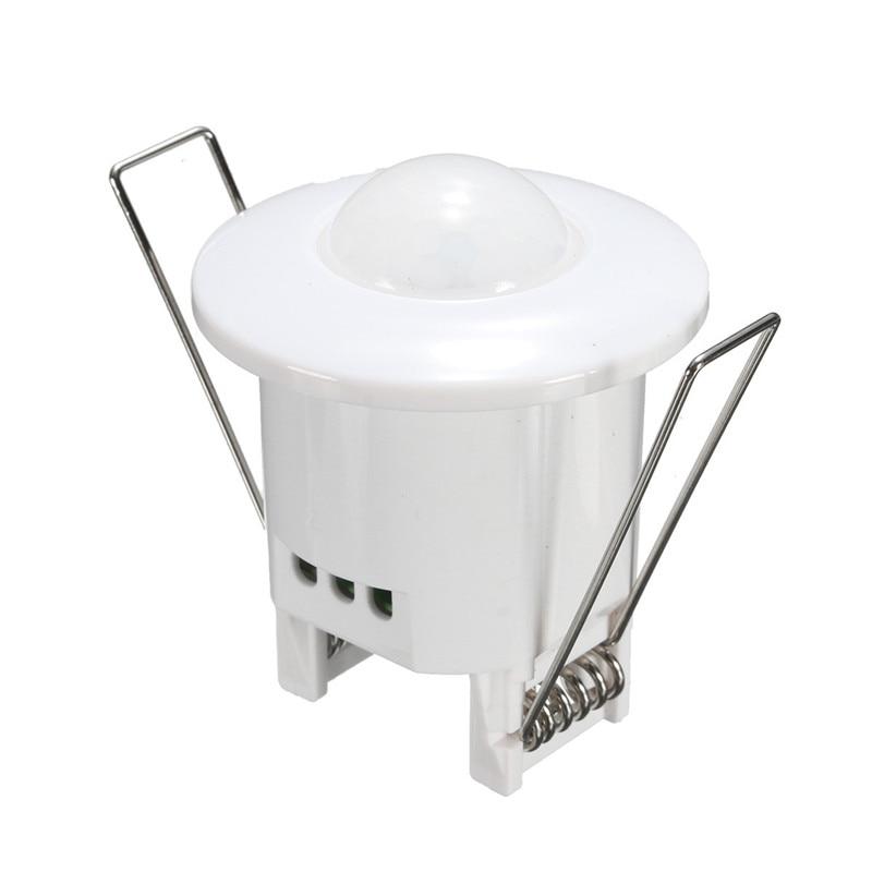 AC 220V-240V Mini Adjustable 360 Degree Recessed Ceiling PIR Infrared Body Motion Sensor Detector Lamp Light Switch 50Hz 800W new arrival 360 degree high sensitivity infrared motion sensor light switch adjustable body infrared sensor dc9 24v 1pc yy