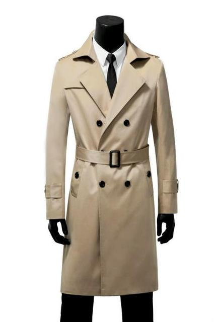 Er Brown Mens Trench Coats...