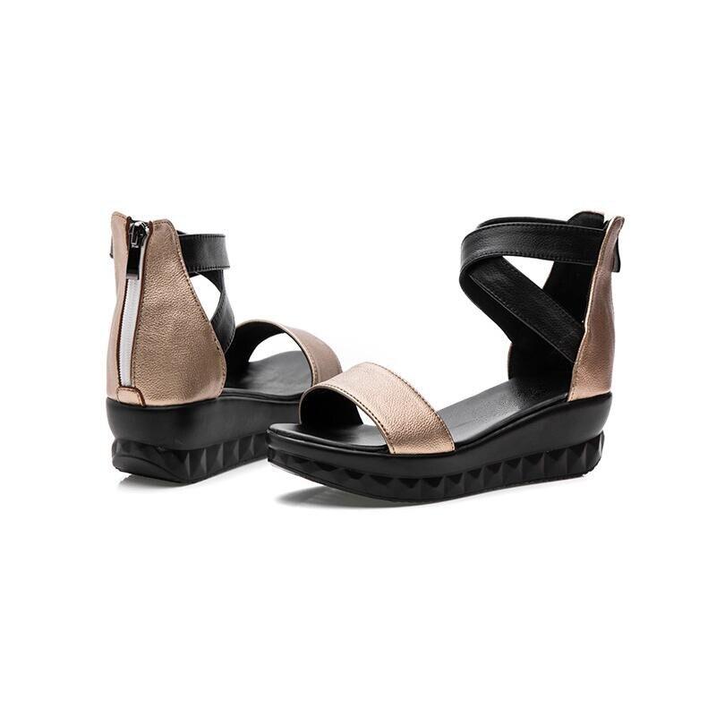 Genuino Scarpe Cuoio Diapositive Donne Comfort Alishinrey Pantofole Madre Infradito Sandali La Estate Casual 01 Per Di Donna 02 Del Delle nnfa0Pq