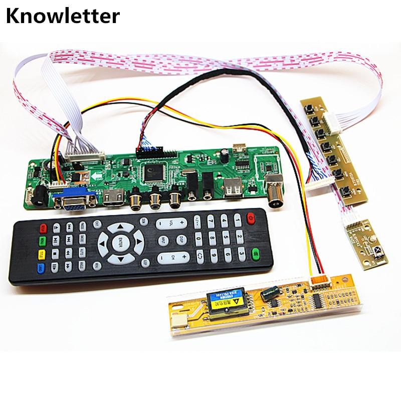 Kit for B150PG01 V.0 TV+HDMI+VGA+USB LCD LED screen Controller Driver Board