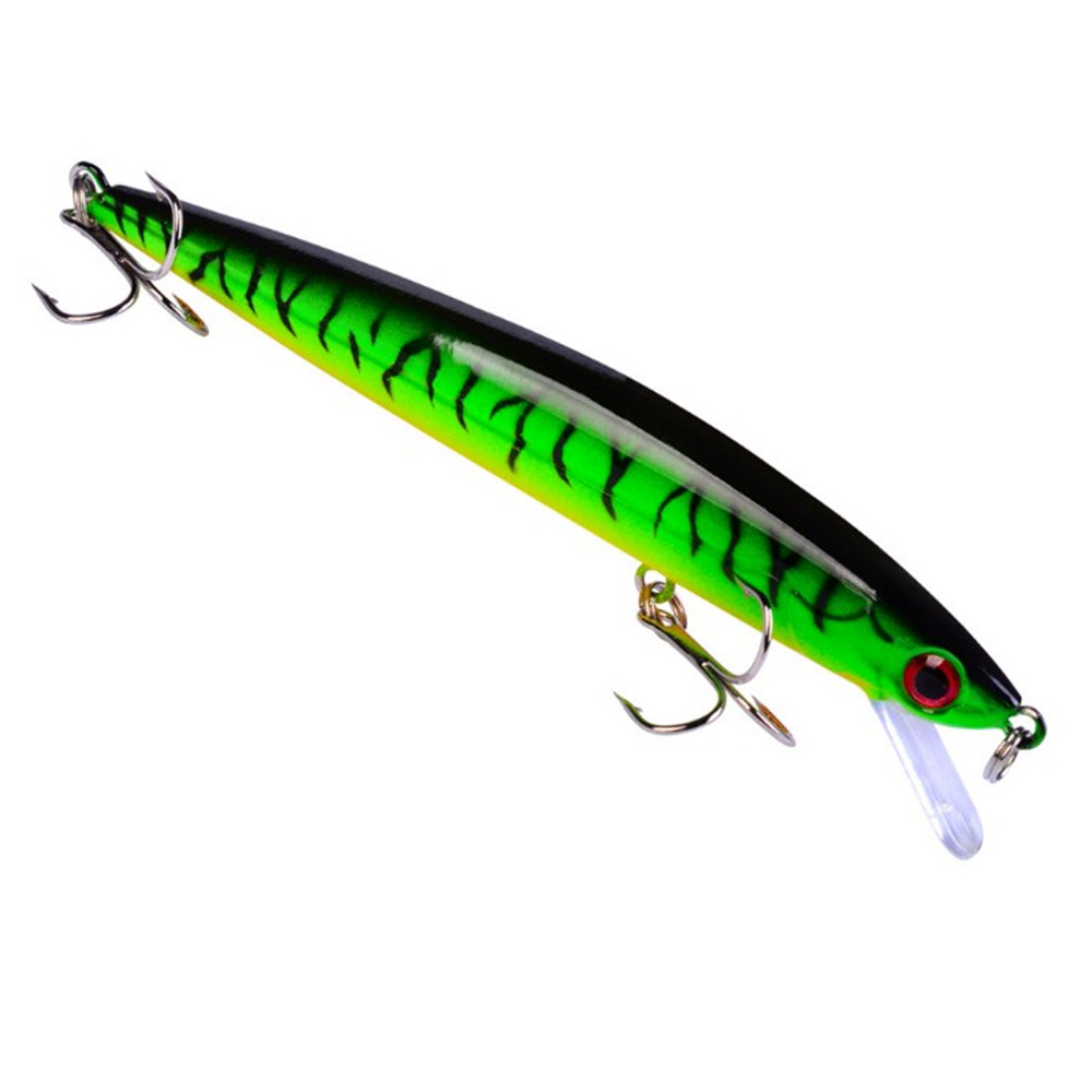 1PCS  Lifelike Minnow Fishing Lure 112mm 9.1g Wobbler Tackle Crankbait Artificial Hard Baits Treble Hooks Plastic Pesca Isca