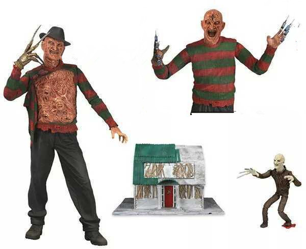 NECA 7inch A <font><b>Nightmare</b></font> <font><b>on</b></font> <font><b>Elm</b></font> <font><b>Street</b></font> 3 Dream Warriors <font><b>Freddy</b></font> Deluxe Edition Collection Action <font><b>Figure</b></font> for Halloween Gift