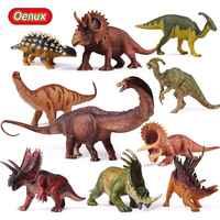 Oenux Original préhistorique jurassique herbivore dinosaures série modèle figurine jouet jurassique dinosaure Figurines enfants jouets