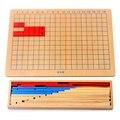 Freies Verschiffen Montessori Ergänzung Subtraktion Streifen Bord Math Spielzeug für Frühkindlichen Bildungs Vorschulkinder Math Spielzeug