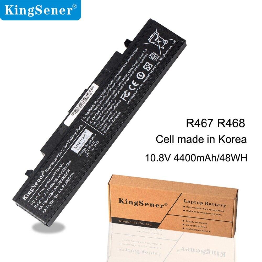 קינגסנר AA-PB9NC6B סוללה ניידת עבור Samsung R530 R528 R428 R428 R429 R430 R467 R468 R478 AA-PB9NC6W AA-PB9NS6B AA-PB9NS6W