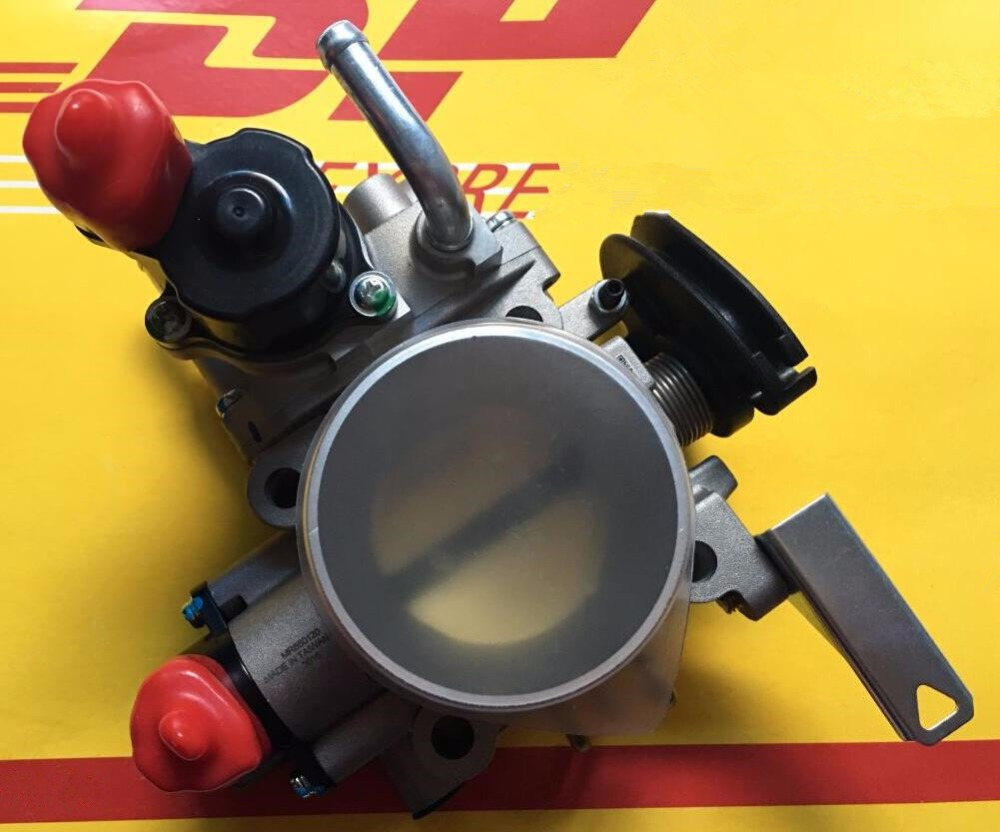 1pc 100 taiwan brand new throttle body mr560120 mr560126 mn128888 for mitsubishi southeast lancer 4g18 engine [ 1000 x 832 Pixel ]