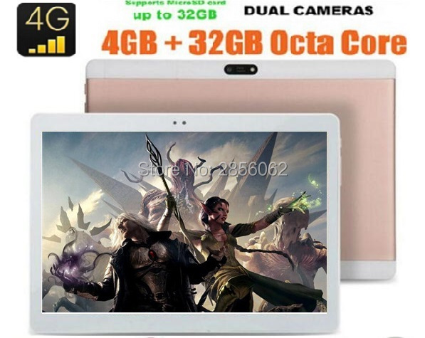 Free Shipping 10 inch tablet android 6 0 Octa Core 4G FDD LTE 4GB RAM 64GB