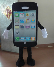 adult mobile phone mascot costume