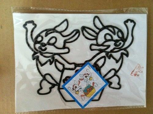 300 шт/партия темперная живопись игрушка, 11*19 см, DIY с цветным рисунком
